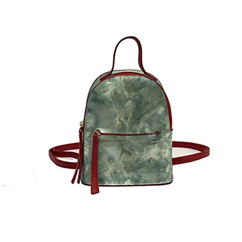 Rialbag Mini-Rucksäcke mit Spiegelstein-Muster, für Schultaschen, Damen, 2176-3