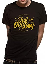 Go Merch Fall Out Boy Bomb Men's T-Shirt