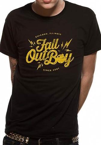 CID - T-shirt Homme Fall Out Boy - Bomb - Noir (Black) - XX-Large