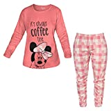 9da094f313 Disney pigiama donna lungo in caldo cotone minnie art. WD20605 (42/S,