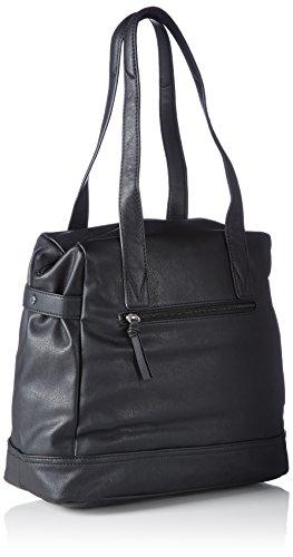 Tamaris LILY Shopping Bag 1287152-001 Damen Shopper 35x30x17 cm (B x H x T) Schwarz (Black)