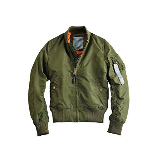 ALPHA Industries MA-1 TT Wmn Women Jacke dark green, Größe:M