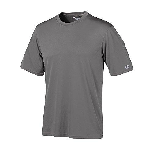 Stag Party, Brown auf American Apparel Fine Jersey Shirt Grau - Grau - Stone Gray