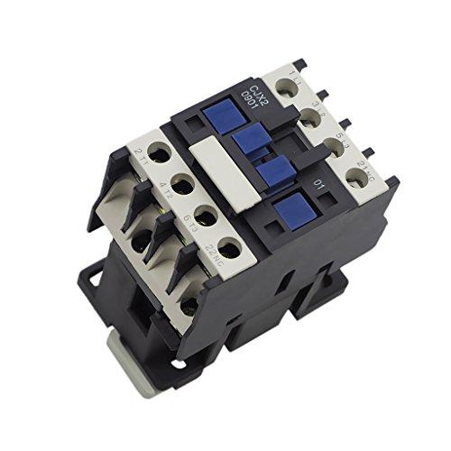 MagiDeal Cjx2-0901 3 Phasen-Pol AC-Spule Schütz Motor Starter Relais - 380v - Motor Starter Schütz
