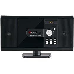 Beatfoxx MC-DVD-90 chaîne stéréo compacte verticale, lecteurs DVD/CD/MP3, portes USB/SD et Bluetooth