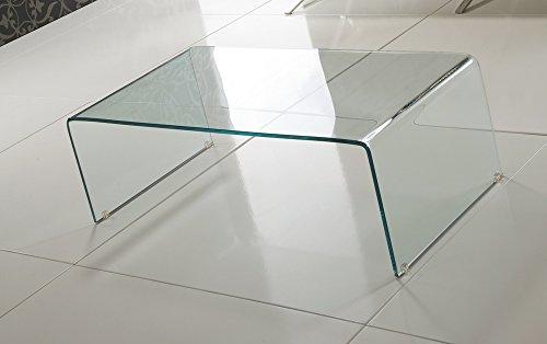 Tomasucci Cristal tavolino in vetro curvato | Prezzi e Offerte ...
