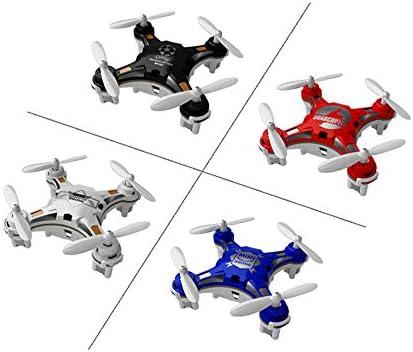 YRE Mini Quatre Axes de Poche de véhicule UAV, à Droite Double-Mode intérieur 3D Roulant à Distance des Avions de ComFemmede, Cadeaux de Noël pour  s,Black | Terrific Value