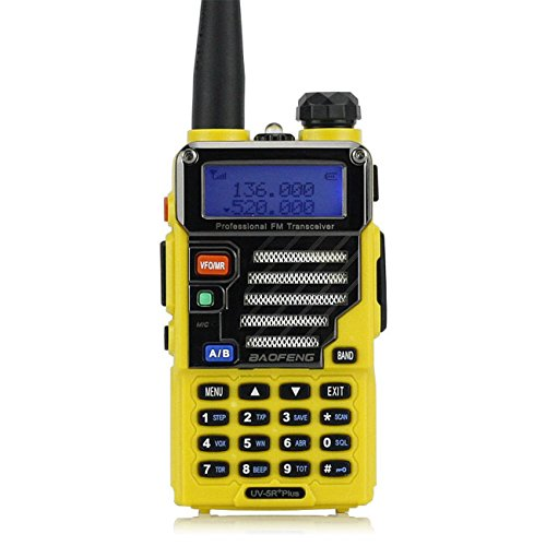 Baofeng Walkie Talkie GT-3 Mark II Transceiver CTCSS/DCS Radio, Dual Band UHF/VHF, Two Modes, Speaker