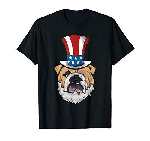 Uncle Sam BART - Englische Bulldogge Uncle Sam Hut Lincoln