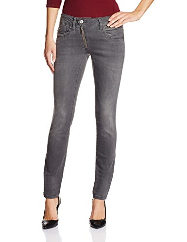 G-STAR Damen Skinny Jeanshose Lynn Zip Mid Wmn, Gr. W25/L30, Grau (medium...