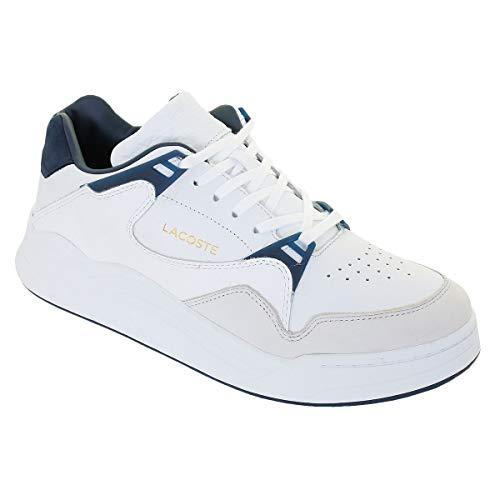 Lacoste Herren Court Slam 319 2 SMA Sneaker, Weiß (White/Navy 042), 46 EU
