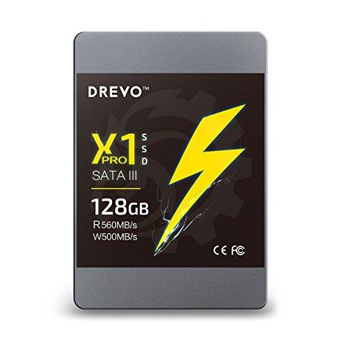 DREVO X1 PRO 128GB DISCO DURO SOLIDO SSD DE 2 5 PULGADAS SATA III  LECTURA 560MB / S ESCRITURA 500 MB / S