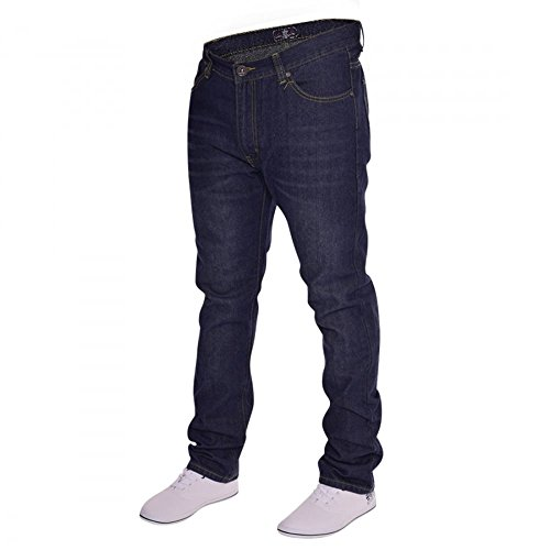 Slim Fit Herren Jeanshose Blau - Blau