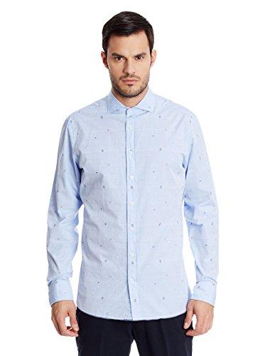 hackett-london-sky-multi-dobby-camisa-casual-para-hombre-celeste-talla-xxl