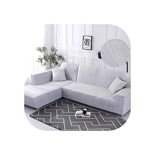 Heloise Richard Sofa-Abdeckung elastische Couch Abdeckung Sectional Stuhl-Abdeckung Es braucht Auftrag 2Pieces Sofa-Abdeckung, wenn Ihre Sofa-Ecke L-Form Sofa, Color11,1Seater und 3 Sitzer -