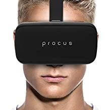 Procus ONE Virtual Reality Headset 40MM Lenses -For IOS and Android – (Black)