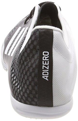 adidas Adizero Ambition 4, Scarpe da Atletica Leggera Uomo Nero (Core Black/hi-res Orange S18)
