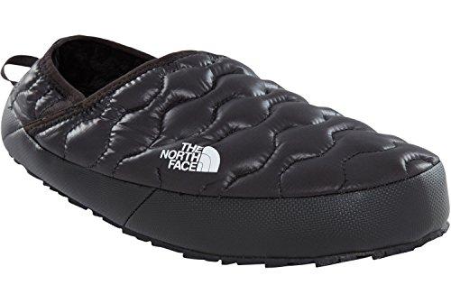The North Face M TB Trctn Mule Iv, Chaussures de Randonnée Basses Homme, Multicolore-Noir/Gris (Shinytnfblck/Drkshadowgry), 40.5 EU