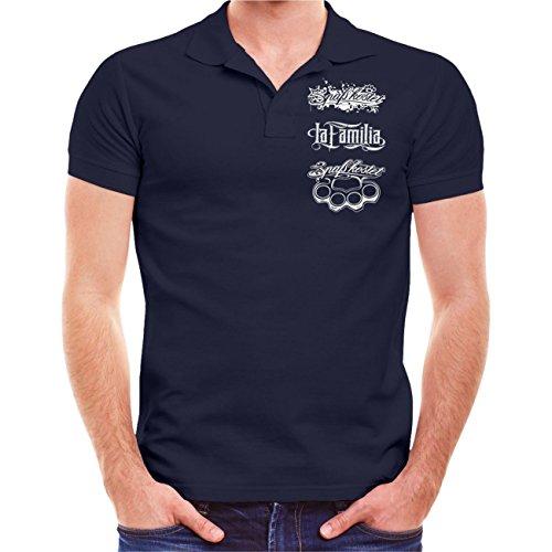 Spaß kostet Männer und Herren Polo Shirt Blaue Serie (mit Rückendruck) Größe S - 10XL