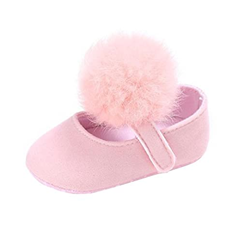 Girls Shoes, SHOBDW Toddler Baby Crib Newborn Cute Soft Sole Anti-slip Sneakers Shoes (0-6 Months,