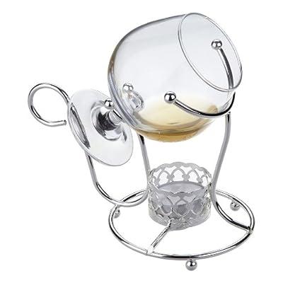Cognac Weinbrand Wrmer Mit Glas