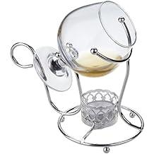 Cognac, Weinbrand Wärmer mit Glas