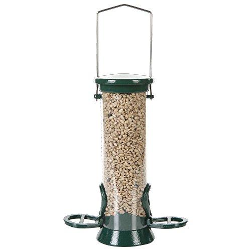 ed Bird Feeder Green 6 Port Large 52.5cm-Green 2 Port Small 20cm ()