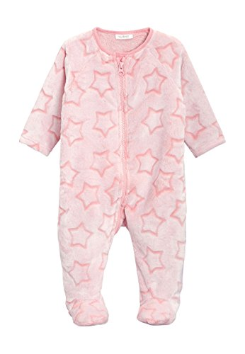 next Baby Mädchen Fleece Schlafanzug Mit Sternenprint (0Monate Bis 3Jahre) Rosa 2-3 Jahre - 2 Stück Fleece-schlafanzug