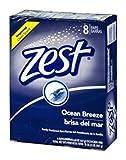 Zest Deodorant Bar Soap, Ocean Breeze, 4...