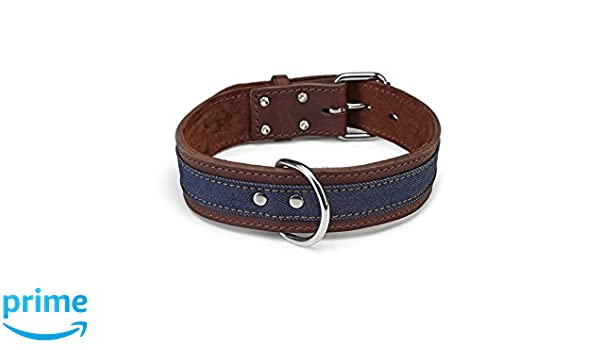 050c47256a32 BEEZTEES 2072876 Tarek Collier en Cuir pour Chien Marron 70 x 4,5 cm   Amazon.fr  Animalerie