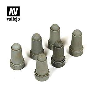 Vallejo SC217 1/35 - Patinete para Carretera 2, hormigón, 6 Unidades, Diferentes