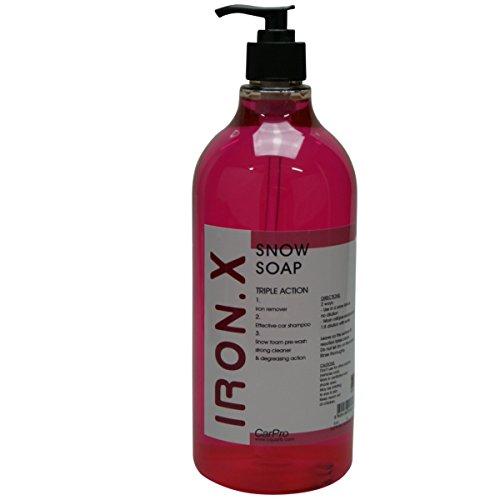 CarPro Iron.X Snow Soap Shampoo Flugrostentferner 1 Liter,