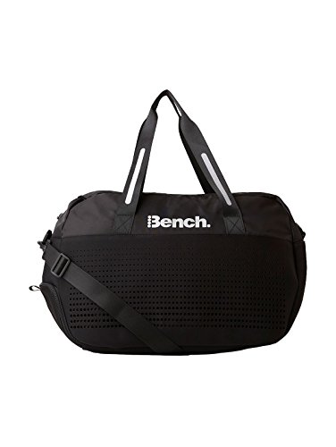 Bench Erwachsene Fabric Mix Neo Nylon Sporttasche Black Beauty 52 x 23 x 35 cm