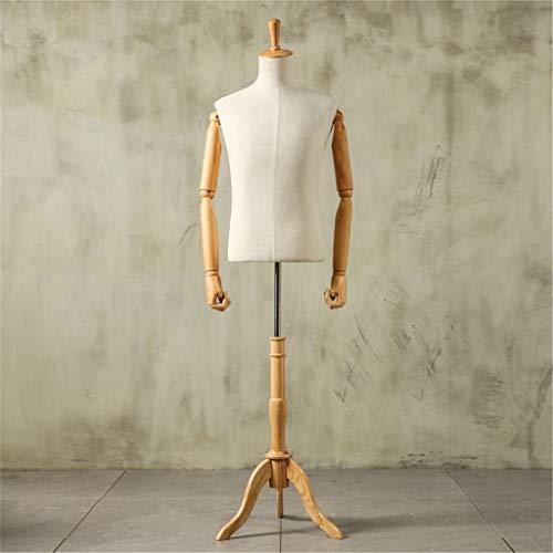GXju-Decorative items Gefälschte Tailor Modell Prop Männlich Ganzkörperbekleidungsgeschäft Anzug Vorführmodell Nähzubehör mehr Farben, Styles Größe 90/93 / 97CM (Color : F#1, Size : M#93CM)