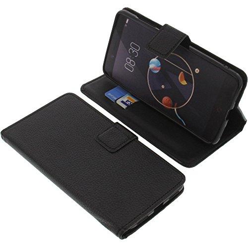 foto-kontor Tasche für Archos Diamond Alpha Book Style schwarz Schutz Hülle Buch