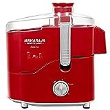Maharaja Whiteline Desire Red Treasure 550-Watt Juice Extractor (Red and Silver)