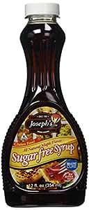 Josephs sugar Free All Natural maple syrup (354ml)
