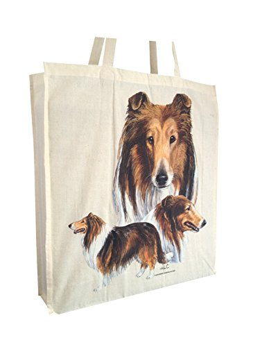 rough-collie-group-breed-of-dog-cotton-shopping-bag-with-gusset-and-long-handles-perfect-gift