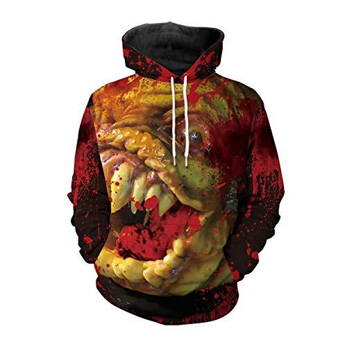 Dame-Jacke für Halloween Scary Monster T-Shirt für Mädchen für Trick or Treat (Scary Kostüm Teenager Mädchen)