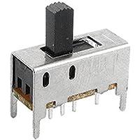 DealMux a11090700ux0278 alta Knob 8 Pin 3 Posición 2P3T DP3T Vertical de interruptor deslizante 0.5 Amp, 50V DC, 10 x 7 mm