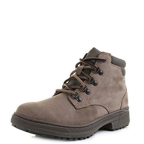 Size 7 Skechers Men's Romolo Leather Walking Hiking Boots