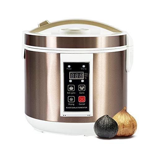 GemTune Schwarzer Knoblauch-automatischer Gärungserreger, schwarzer Knoblauch-Gärungs-Kasten, intelligente Gärung-Maschine, Haus- / Küchen-Gerät (Knoblauch Maschine)