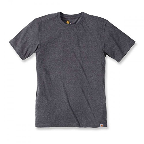 Carhartt .101124.026.s005 Maddock nicht Pocket T-Shirt, Medium, Carbon Heather