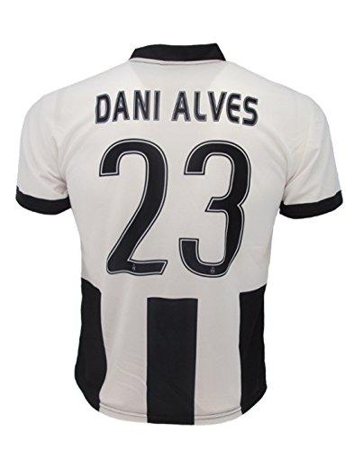 Camiseta Dani Alves Juventus réplica oficial 2016–17Juve niño años 12108642Home 23, come da foto, 2 años