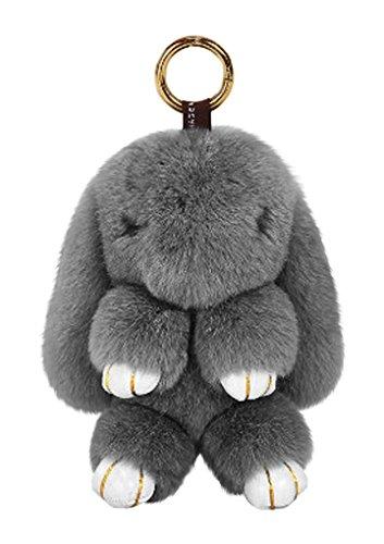 Süß Schlüsselanhänger Taschenanhänger Weich Plüsch Anhänger Auto Schlüsselring Türdekoration Geschenk für Damen Freunde oder Kinder