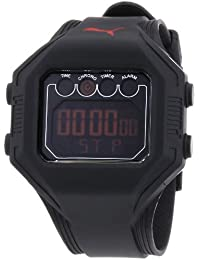 Puma Time Active Herren-Armbanduhr Digital Bounce- L Black Quarz A.PU910771002