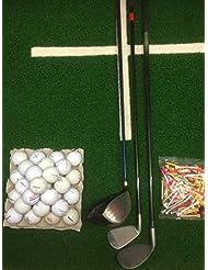 Lakeballs-Diver (Crossgolf - Set XXL 3 Golfschläger + 50 Crossgolfbälle + 50 Holztees, Crossgolf, Golfbälle, Urbangolf (Rechtshand)