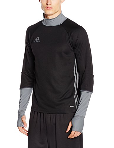 adidas Erwachsene Sweatshirt Condivo 16 Training Top, black/dark grey, 3XL, S93543 (T-shirt Herren Element Short)