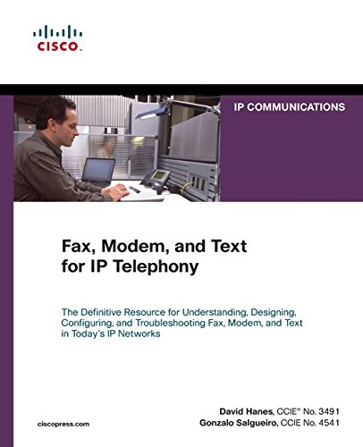 Fax, Modem, and Text for IP Telephony (IP Communications (Paperback))