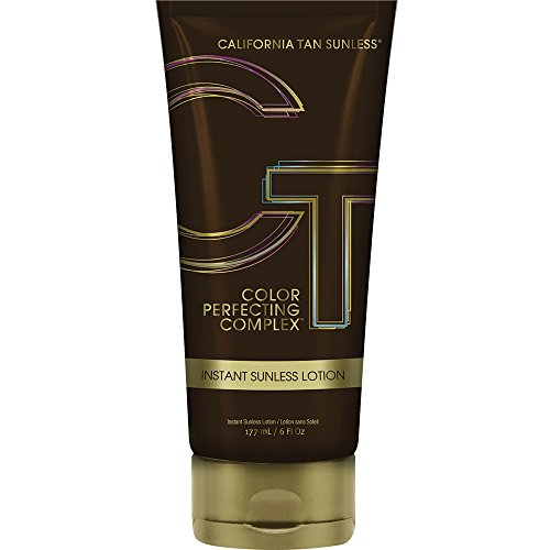 Sunless Selbstbräuner Lotion (California Tan Sunless Color Perfecting Complex Instant Lotion, 1er Pack (1 x 0.177 l))